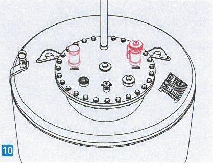 Armaturensatz Entsorgung für LT-ehl