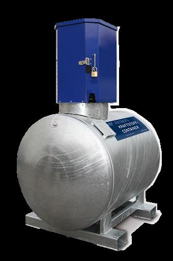 Mobile Tankanlage KC-S Dieseltank mit Pumpe 500 u. 1000 Liter Rietberg