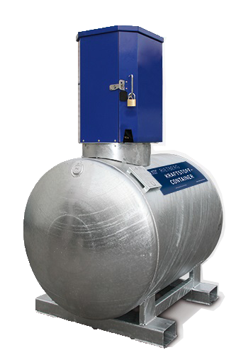 Mobile Tankstelle KC-S Dieseltank 1000 Liter mit Elektropumpe 230V Rietberg