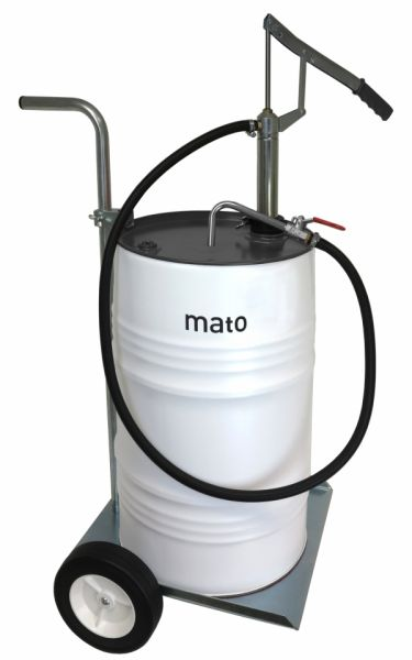MATO Fasspumpe HP 202, mobil für 50 bis 60 Liter Ölfässer