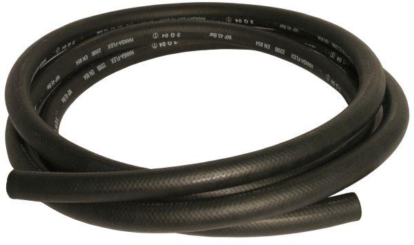 """Gewebeverstärkter, leitfähiger EPDM-Schlauch DN19 (R3/4"""") schwarz, UV-beständige Industriequalität,"""