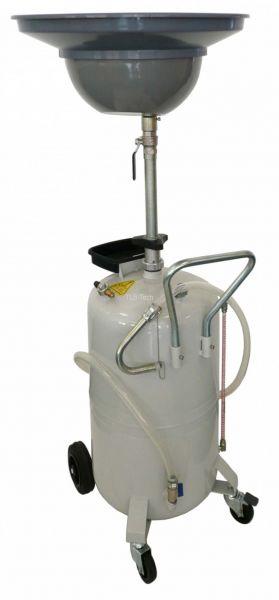 Altöl-Auffanggerät 75 l fahrbar mit Druckentleerung