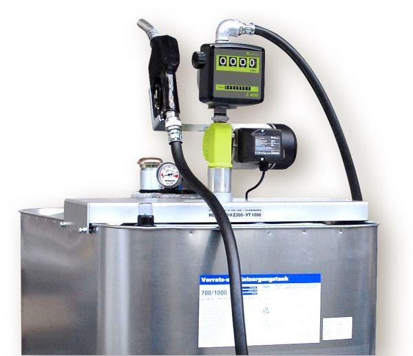 Hoftankstelle - Profi - Horn - 1000 Liter - Dieseltankanlage
