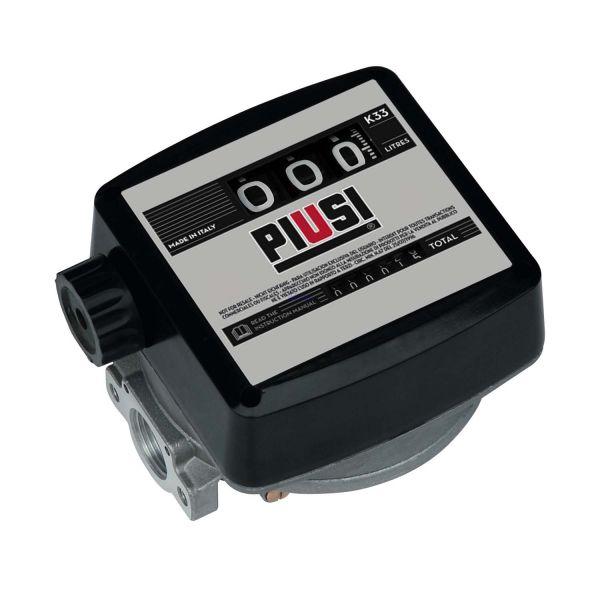 PIUSI Durchflusszähler K33 Ver. C für Öl